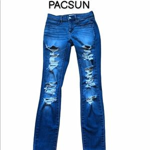 PACSUN destroyed jeggings
